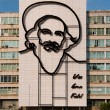 Fidel Castro Monument in Plaza de la Revolucion. La Havana, Cuba — Stock Photo