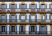 Constitucion placu w san sebastian. hiszpania — Zdjęcie stockowe