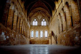 Refectory of monks in Santa Maria de Huerta Cistercian Monastery — Foto Stock