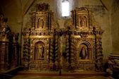 Retábulo barroco em santa maria mosteiro cisterciense de huerta, soria. sp — Foto Stock