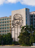 Che Guevara Monument in Plaza de la Revolucion. La Havana, Cuba. — Stock Photo