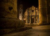 Kathedraal van saint christopher in la havana. — Stockfoto