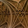 Ceiling Cathedral of Leon in Spain — Stock Photo