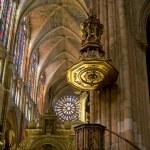 Постер, плакат: Choir in Santa Maria de Leon Cathedral Leon Spain