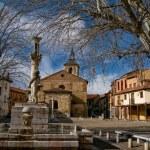 Plaza del Grano in Leon. Spain — Stock Photo