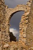 Demolished Castle — Zdjęcie stockowe
