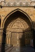 Cattedrale di leon in spagna — Foto Stock