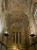 Virgen del Camino chapel of Santa Maria de Leon Cathedral in Leo — Stock Photo