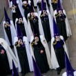 Religious processions in Holy Week. Spain - Stock Photo