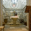 Inside of a Baptistery Crypt — Stock Photo