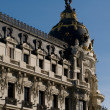 Stock Photo: Metropolis Building in Madrid, Spain