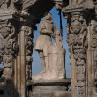San Isidro statue, patron from Madrid, Spain — Stock Photo