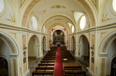 Inside of a Christian Church — Stockfoto