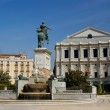Oriente Square, Madrid - Plaza de Oriente, Madrid — Stock Photo