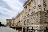 Royal Palace in Madrid, Spain — Stock Photo