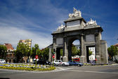 Puerta de Toledo, Madrid — Stock Photo