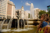 Plaza de España, Madrid. Spain — Stock Photo