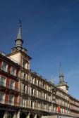 Major Square, Madrid. Spain. Casa de la Panaderia — Stock Photo
