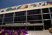 Palace of congresses and exhibitions from madrid — Stockfoto