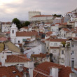 Stock Photo: Barrio alto in Lisbon. Portugal