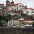 Se Cathedral view from the river douro. Porto, Portugal — Stock Photo #8552891