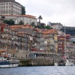 Porto view from the river douro. Porto, Portugal — Stock Photo #8552932