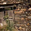 ������, ������: Aged wooden door in an ancient house