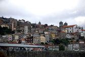 Porto view from the river douro. Porto, Portugal — Stock Photo