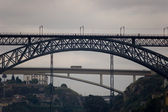 The Dom Luis I Bridge. Porto, Portugal — Stock Photo