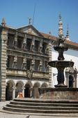 Church and Casa da Misericordia in the Republic Square. Viana do — Stock Photo