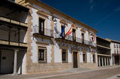 City Hall of Mayor Square from Tembleque, Spain — Stock Photo