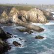 Stock Photo: View CAPE BLANCO ( Cantabrise) Asturias