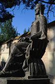 """"""" Isabel la Católica statue """" — Foto Stock"""