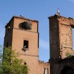 Storks in Alcalá de Henares .SPAIN — Stock Photo