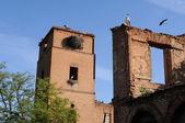 Storks in Alcalá de Henares .SPAIN — Stockfoto