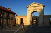Gate of Madrid ( 1778 ).Alcala de Henares.SPAIN — Photo