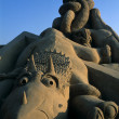Stock Photo: Festival of sand ZEEBRUGGE- BELGIUM