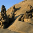 Festival of sand. ZEEBRUGGE- BELGIUM — Stock Photo