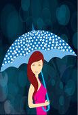 Monsoon — Stock Vector