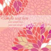 Vector pink background — Stock Vector