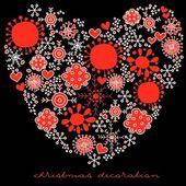 Lovely decoration vector card — Stock Vector