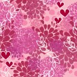 Vector pink pattern for Valentine day — Stock Vector #8703007