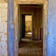 Stockfoto: Old house in kolmanskop's ghost town in namibia