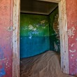 Stock Photo: House full of sand in kolmanskop namibiafrica