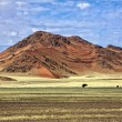 Namib naukluft park near sesriem namibia africa — Stock Photo