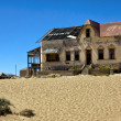 Stock Photo: Ruine of old house in kolmanskop namibia