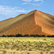 Stock Photo: Vast orange dune at Sossusvlei namib naukluft park namibia