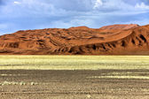 Velké duny v Africe Namibie namib naukluft park — Stock fotografie