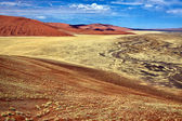 A view from the une 45 near sossusvlei & sesriem namibia — Stock Photo