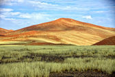 Big orange dune at Sossusvlei Namib Naukluft Park Namibia — Stock Photo